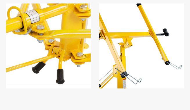 Yellow Gypsum Board ~ New ft kg yellow shogun drywall panel lifter plaster