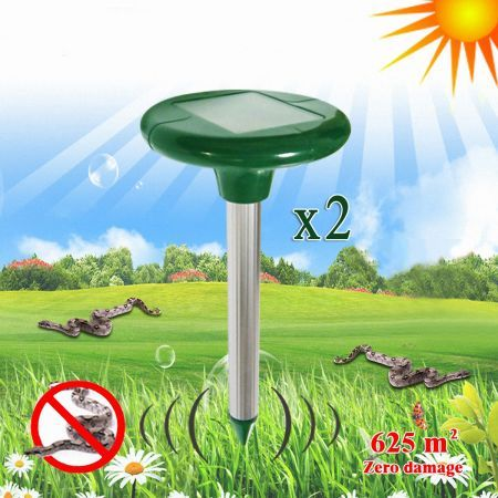 Solar Powered Snake Repellent - Set of 2