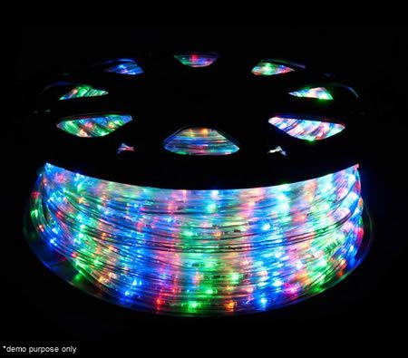 1800 led christmas rope lights 50m 8 functions multi coloured 1800 led christmas rope lights 50m 8 functions multi coloured aloadofball Images