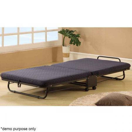 Folding Bed with Adjustable Headrest