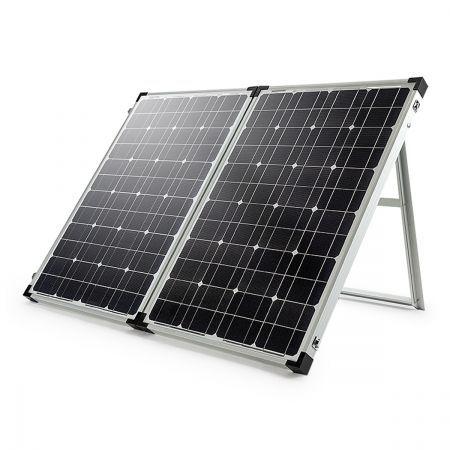 gp 12v 140w folding portable solar panel kit camping. Black Bedroom Furniture Sets. Home Design Ideas