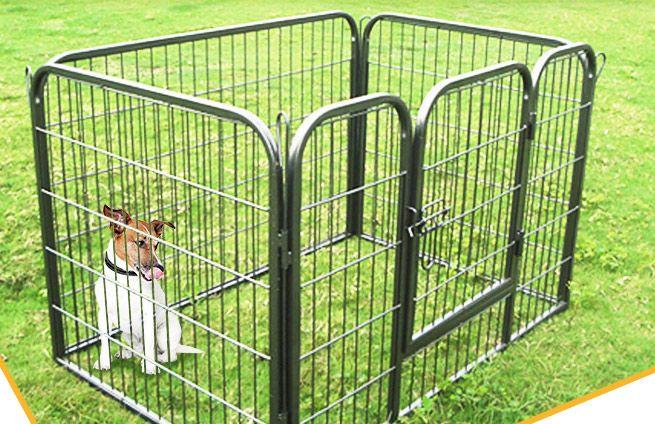 Rectangular Small Pet Dog Cat Enclosure Playpen Puppy