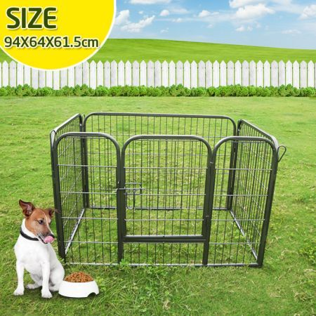 Rectangular Small Pet Dog Cat Enclosure PlayPen Puppy Guinea Pig Rabbit Cage