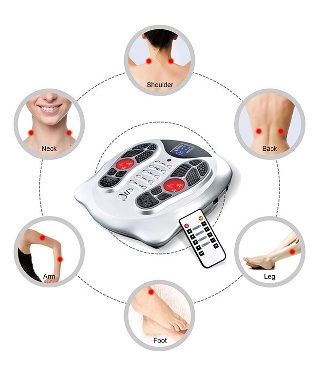 Electromagnetic Wave Foot Massager 60 Working Modes