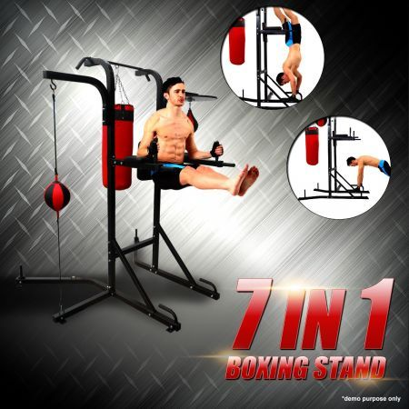 Multi-Station Boxing Stand with Power Tower