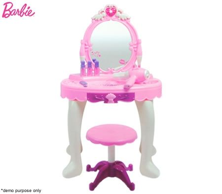 Barbie Princess Vanity Dressing Table Play Set