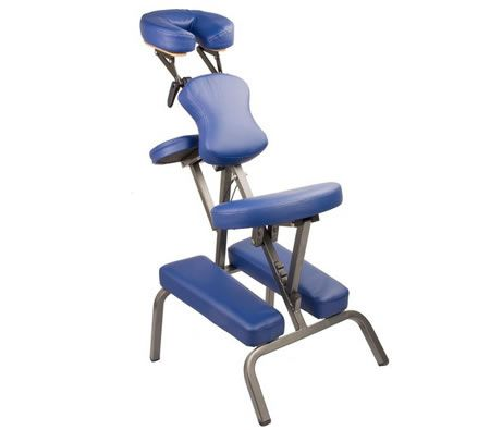 Portable Massage Chair - Blue