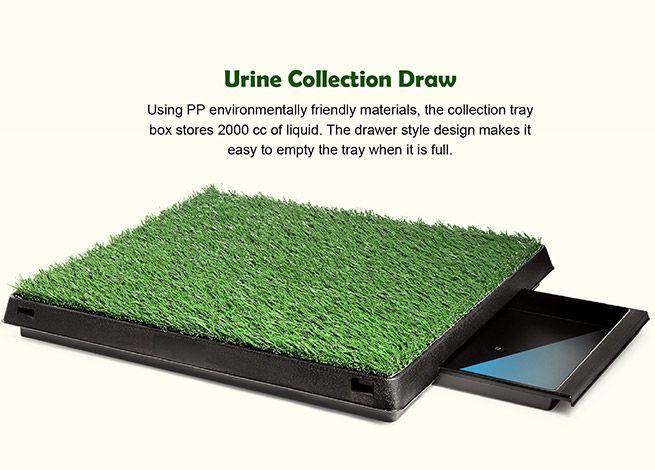 New Pet Dog Toilet Mat Indoor Portable Training Grass