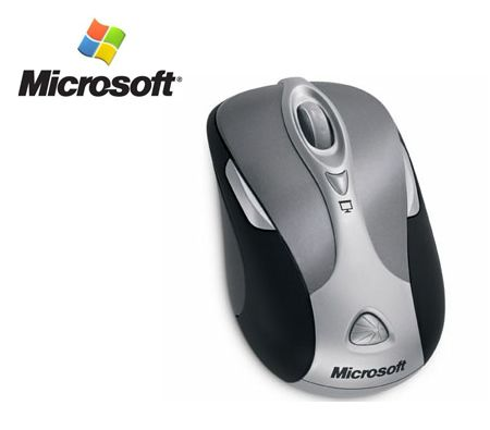 Microsoft Wireless Notebook Presenter Mouse 8000 - USB / Bluetooth / Media Remote / Laser Pointer