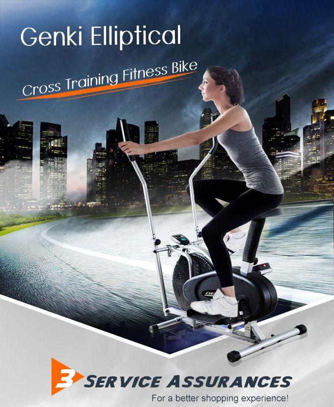 Genki Elliptical Bike/Cross Trainer