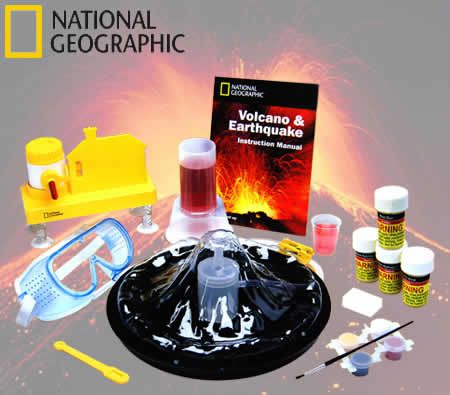 National Geographic Volcano Amp Earthquake Science Kit