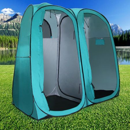 Pop-Up Twin Ensuite Tent & Pop-Up Twin Ensuite Tent | Crazy Sales