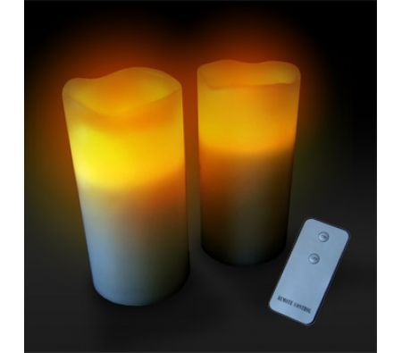 Remote Control Real Wax LED Candles