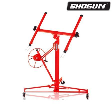 Shogun Red 11ft-65KG Drywall Panel Lifter Plaster Board Lift