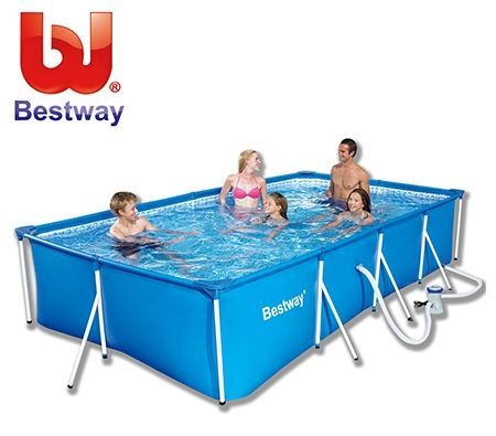 Bestway Deluxe Splash Frame Pool w/ Filter