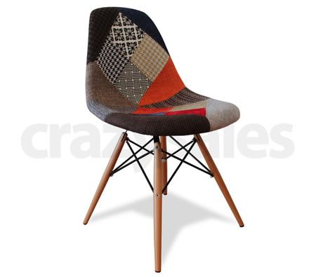 Replica eames dsw dining chair multicoloured crazy sales for Eames dsw replica