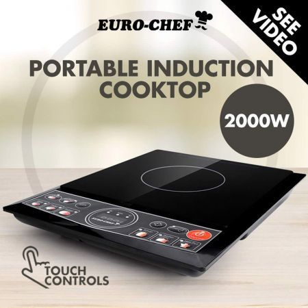 Euro Chef Electric Induction Cooktop
