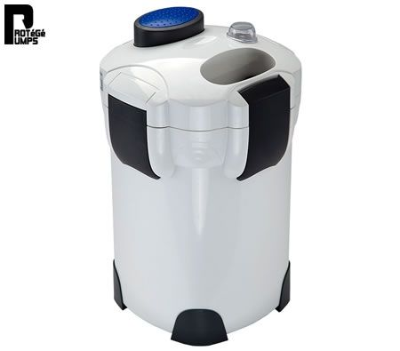 1400L/H Aqua Aquarium External Canister Filter UV Light Fish Pond Water Tank