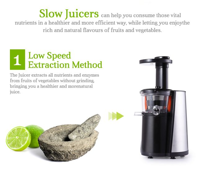 Slow Juicer Vs Extractor : Stainless Steel Slow Juicer Crazy Sales