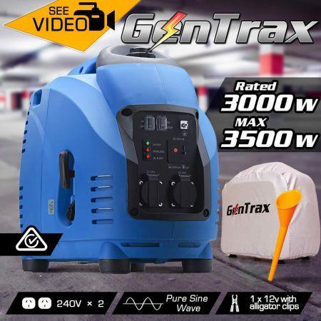 Gentrax 3 5kva Pure Sine Silent Inverter Generator Crazy
