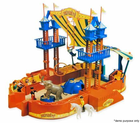 Superplay Toy Zoo Circus Playset