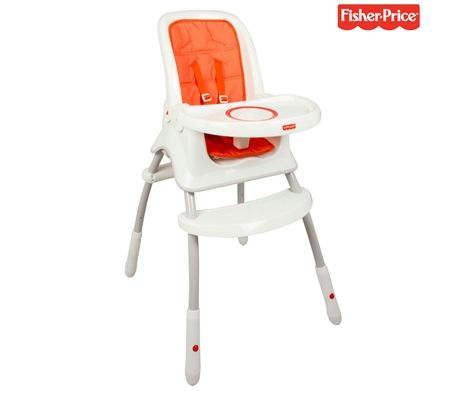 8685a33eceb Fisher Price Orange Grow-With-Me Highchair