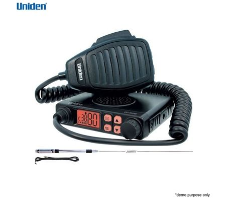 Uniden Compact UHF CB Mobile - 80 Channels w/Antenna