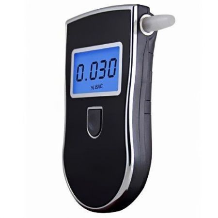 Professional Police Digital Breath Alcohol Tester Breathalyser