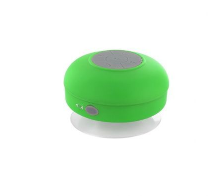 Mini Bluetooth Waterproof Wireless Hands Free Shower Speaker Green