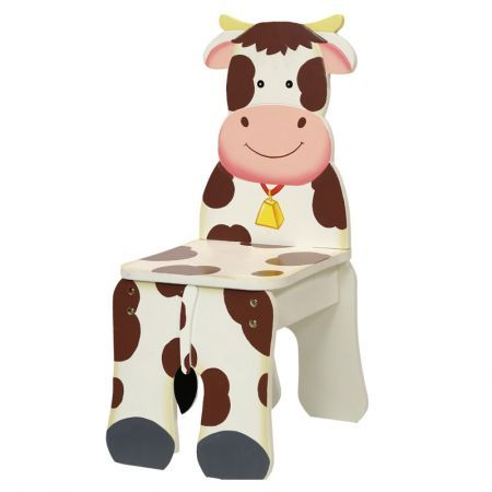 Teamson Happy Farm Kids Chair - Cow