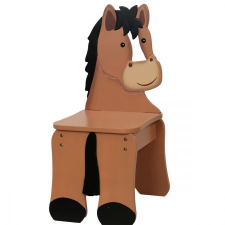 Teamson Happy Farm Kids Chair - Pony