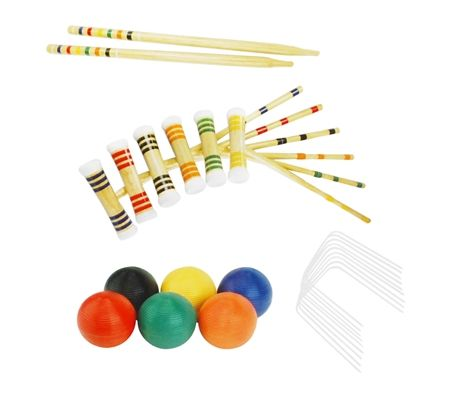 Regent Premier Croquet 6 Player Set
