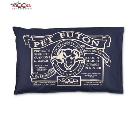 Snooza Pet Futon Dog Bed - Mighty / Blue