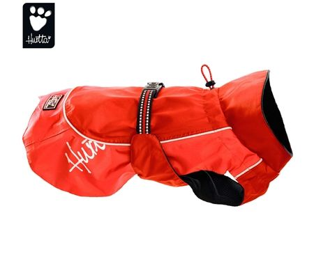 Hurtta Raincoat 55cm Waterproof Dog Jacket - Red