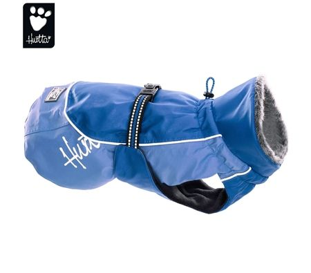 Hurtta Winter Jacket Dog Coat - Blue 50cm
