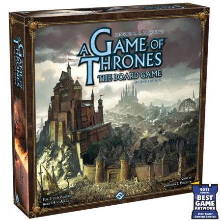 A Game Of Thrones Board Game - Second Edition