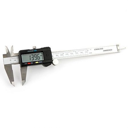 Stainless hardened digital caliper