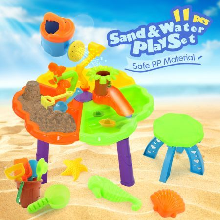 Sand and Water Activity Table