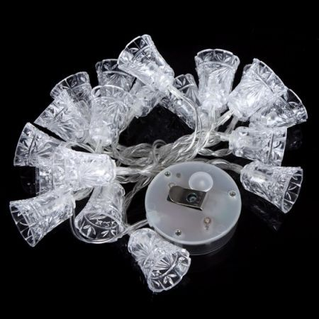 20 Led Solar String Lights Christmas Party Wedding Outdoor