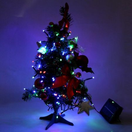 Solar Christmas Tree String Lights : 200 LED RGB Solar Fairy String Light Christmas Wedding Party Garden Tree Decor Crazy Sales