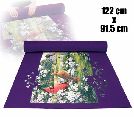 Roll Up Jigsaw Puzzle Mat Storage Crazy Sales
