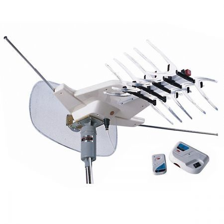 Outdoor HDTV Digital Aerial Rotating UHF/VHF/FM 2003 Antenna