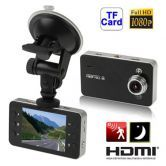 1080P HD Car DVR Vehicle Camera Video Recorder LED Night Vision 2.7 inch K6000 + Free 8 GB TF Card