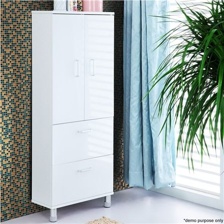 2 door 2 drawer wall mounted bathroom cabinet crazy sales for Bathroom 2 door wall cabinet