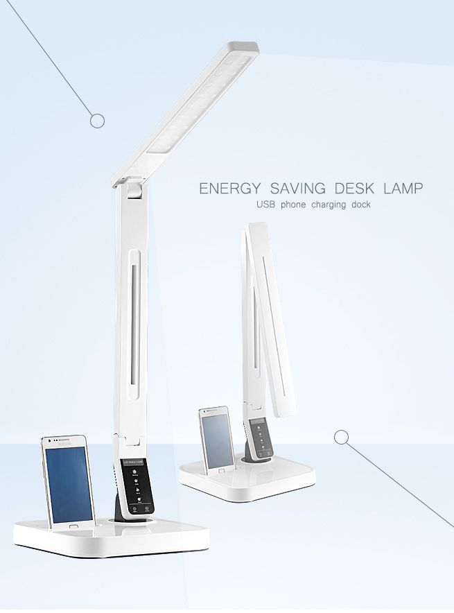 Led Desk Lamp With Usb Charger Crazy Sales