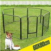 Folding 8 Panel Pet Playpen-Small