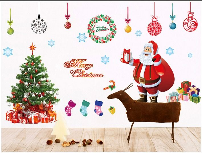 Merry Christmas Home Room Decor Removable Wall Sticker Crazy Sales