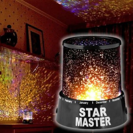 Cosmos Star Master Romantic Colourful LED Projector Lamp Night Light