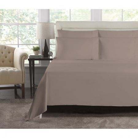 Queen bed latte 1000 thread count luxury fitted sheet set for Queen bedroom sets under 1000