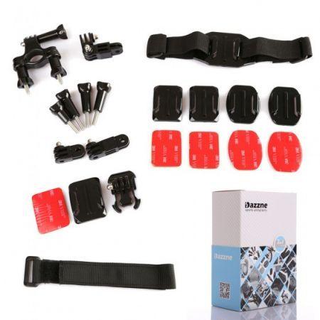 Dazzne 7in1 KT-103 Mount System Set Kit Accessories for GoPro Hero 3+/3/2 Cameras